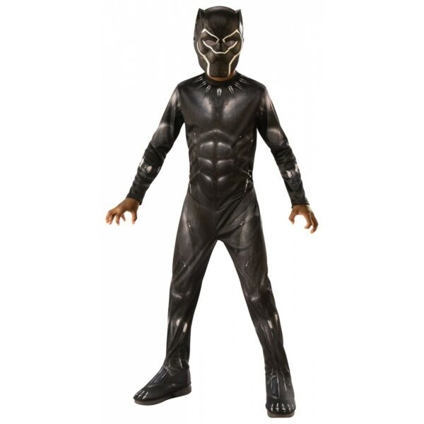 Black Panther Costume Kids Halloween Fancy Dress
