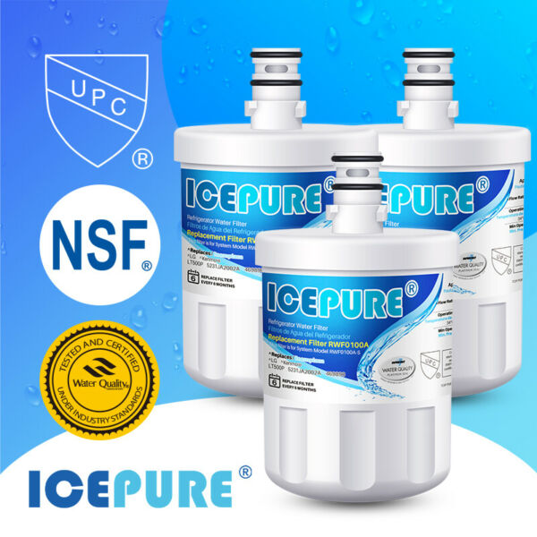 Compatible With LG LT500P 5231JA2002A ADQ72910907 Icepure Water Filter