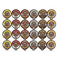 Crazy Cups Flavored Coffee Single Serve for Keurig K Cups Brewer Variety Pack Sa