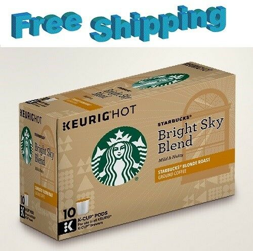 Starbucks Bright Sky Blonde Roast Coffee Keurig k-cups