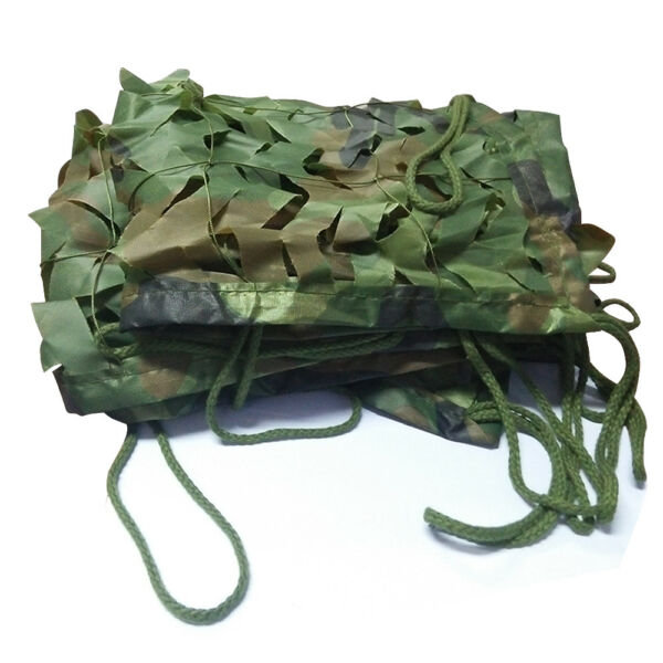 39*78quot; 1Mx2M Woodland Camouflage Camo Netting Jungle Camping Military Hunting