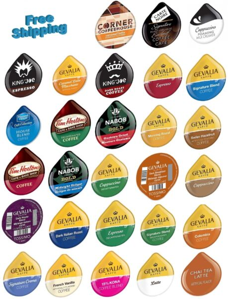 T DISCs for Tassimo Beverage System YOU PICK THE BRAND & FLAVOR
