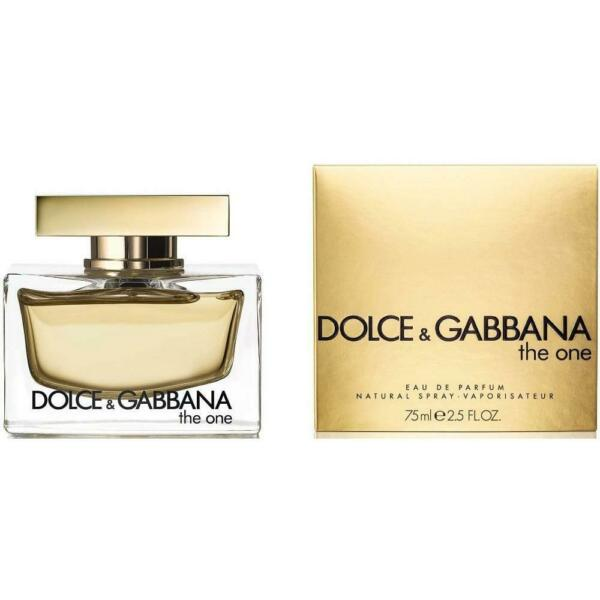 D amp; G THE ONE Dolce amp; Gabbana Perfume 2.5 oz edp NEW IN BOX
