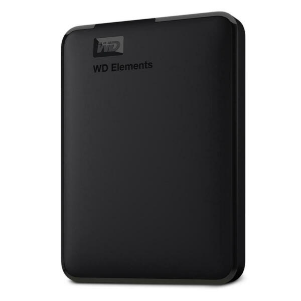 WD Elements Portable 1TB Manufacturer Refurbished Hard Drive by Western Digital
