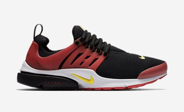 Nike Air Presto Essential Men's Running Shoes Black University Red 848187 006