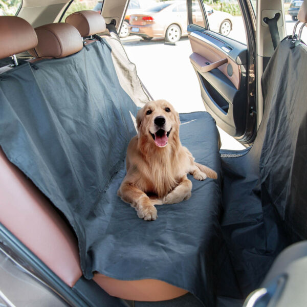 Waterproof Pet Dog Seat with Hammock Scratch Proof Rear Protector Mat Travel $9.49