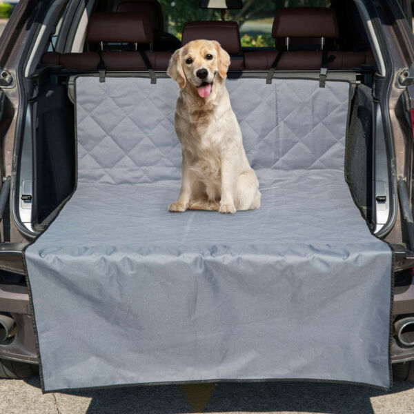 Washable Dog Car Seat Covers Waterproof Bench Protector Pet Hammock for Car SUV $18.99