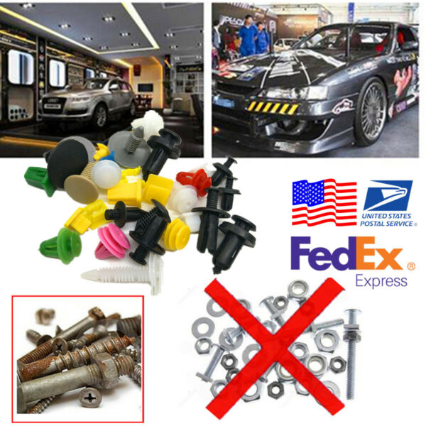 1000Pcs Fasteners Rivet Used Widely for Car Suface ,Fender, Bumper, Door Panel