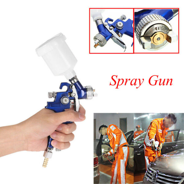 Small HVLP Air Spray Gun Auto Car Touch Up Paint Sprayer Spot Furniture Repair