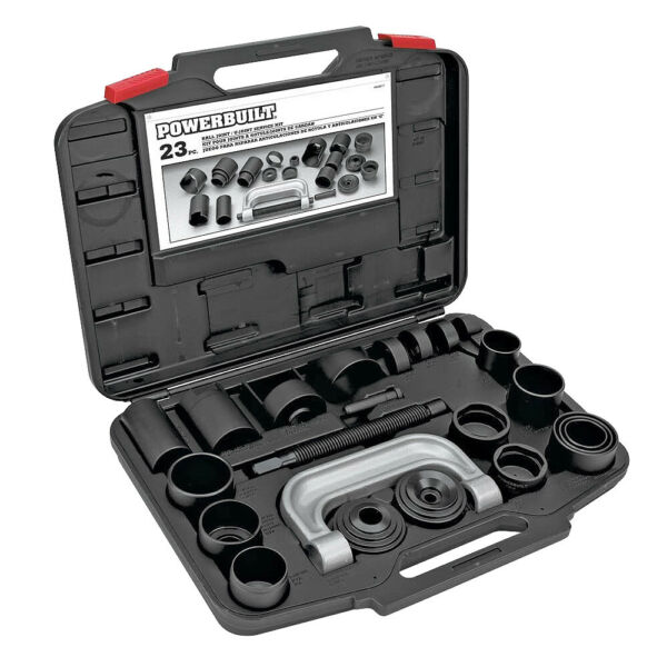 Powerbuilt 23 Piece Ball Joint and U Joint Service Set - 648617