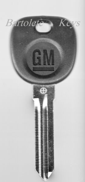 OEM Key Blank Fits Buick Cadillac Pontiac Saturn GMC Suzuki And Other Models