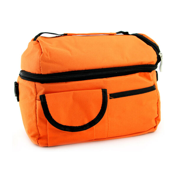 Insulated Lunch Bag Mini Cooler With Shoulder Strap For School Office Picnic US