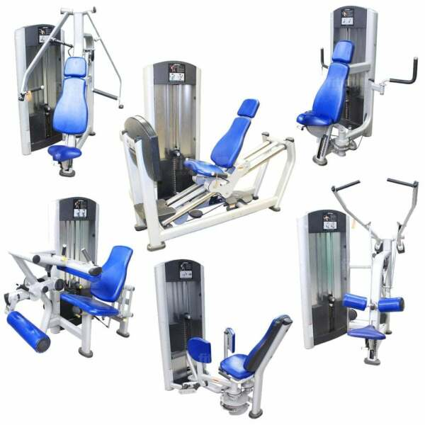 16 Life Fitness Signature Series Full Circuit  6 Hammer Strenth 12 Station