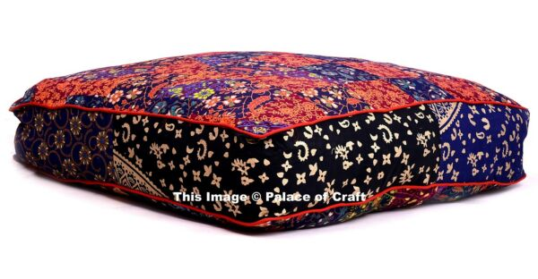 Indian Mandala Floor Pillow Tapestry Dog Bed Square 35