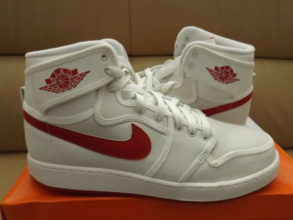 Nike Air Jordan 1 KO Men's Shoes Size 10 Sail Varsity Red AJKO  638471-102 (NEW)