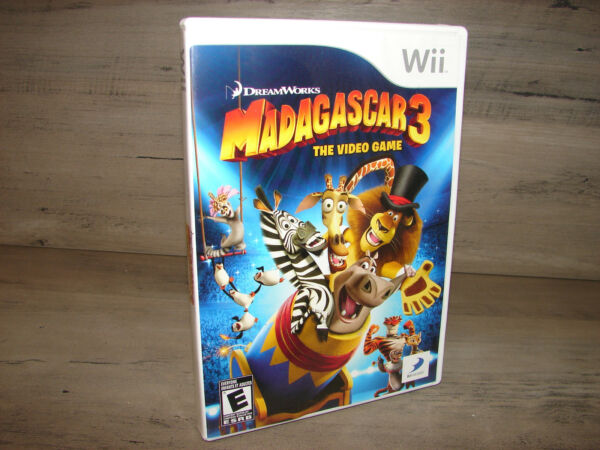 Madagascar 3 Nintendo Wii Video Game   ***DISC IS MINT***
