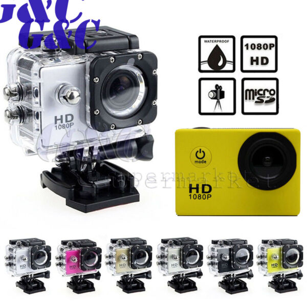 Waterproof SJ4000 HD480P Ultra Sports Action Camera DVR Helmet Cam Camcorder