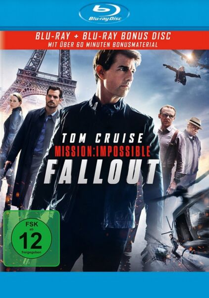 Vorbestellung: Mission: Impossible 6 - Fallout - (Tom Cruise) # 2-BLU-RAY-NEU
