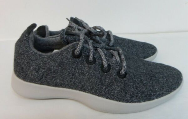 ALLBIRDS Wool Runners Mens Size 11 Sneakers Natural Grey W/ Light Grey Sole