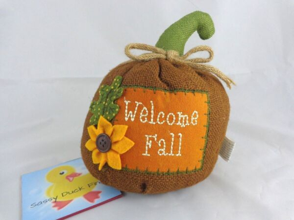 Decorative Plush Pumpkin 7