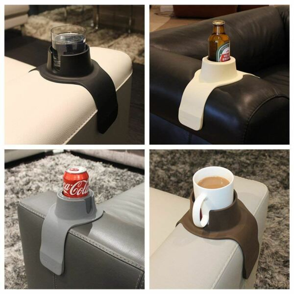 CouchCoaster Ultimate sofa drink holder Red Grey Brown Black Cream Couch Coaster $19.75