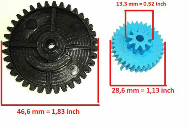 For Ford Transit Connect VW Caddy Central Door Lock Actuator Repair Gear 2000 13 $9.99