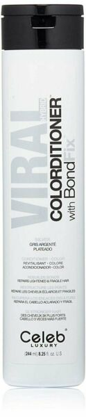 Celeb Luxury Viral Hybrid Colorditioner With Bondfix Silver 8.25 oz