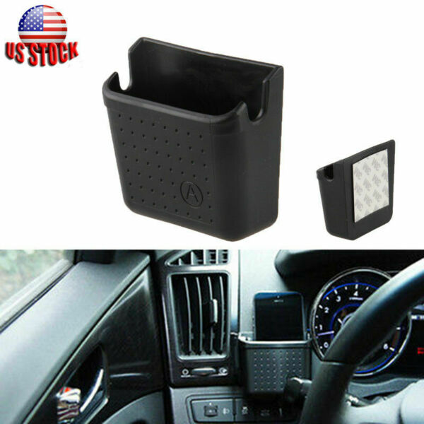 For iPhone Auto Car Cell Phone Holder Pocket Storage Pouch Bag Organizer Box