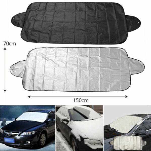 Windshield Cover Snow Ice for Car Frost Guard Winter Protector Magnetic Auto 1PC $4.29