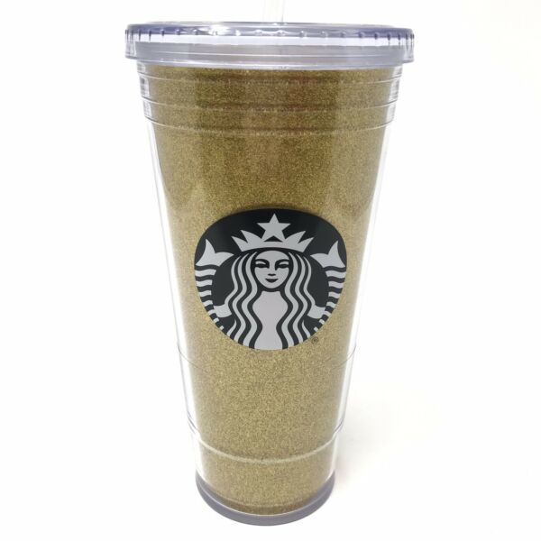 Starbucks 20oz Venti Reusable Coffee Cup Holographic W Lid And Straw NEW!