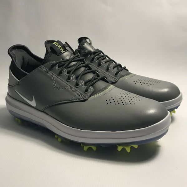 Nike Air Zoom Direct Golf Shoes Dark Cool Grey Volt White 923965-002 Size 10.5