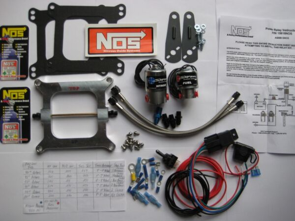 *BLACKOUT! NEW NOS/NX/EDELBROCK/ HOLLEY 4150 CHEATER NITROUS PLATE KIT 50-250HP