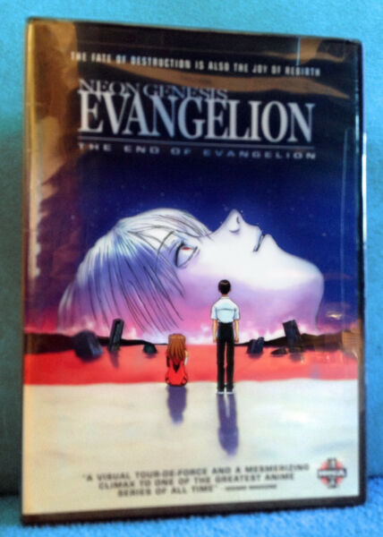 Neon Genesis Evangelion: The End of Evangelion FACTORY SEALED POSTER INSIDE