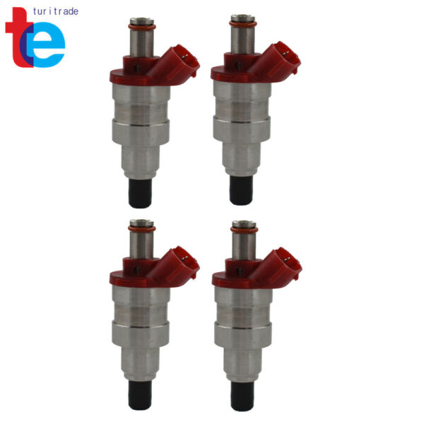 4X Fuel Injector G609 13 250 For Mazda B2600 MPV 2.6L High impedance flow match