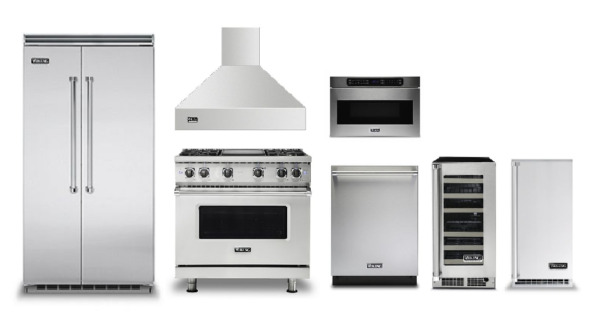Viking Pro Kitchen Appliance Package with Bar