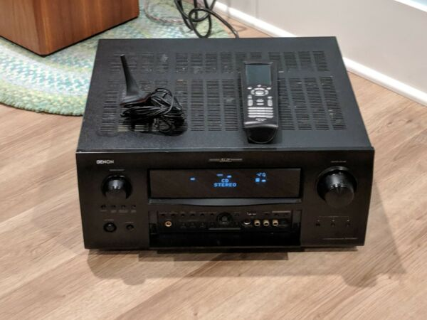 Denon AVR-4308CI 7.1 Channel A/V Home Theater Multi-Zone Receiver