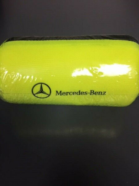 NEW Sealed Mercedes Benz Factory OEM Yellow  Safety Vest Jacket A0005834300
