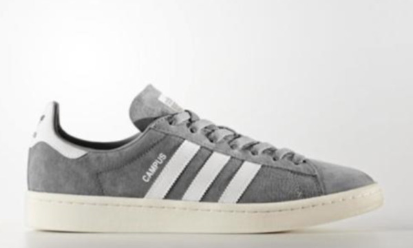 ADIDAS MENS CAMPUS FOOTWEAR GRAY WHITE CHALK NEW WITH BOX -PICK SIZE- BZ0085