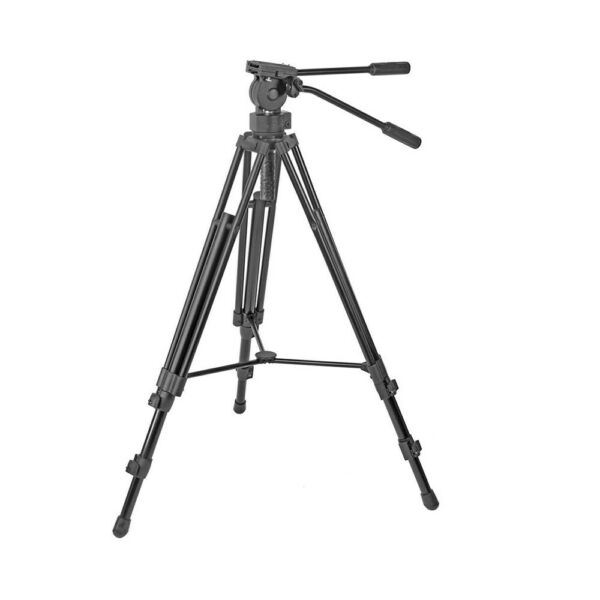 RedLine 7518 Professional Video Tripod Aluminum With F18 Fluid Head BRAND NEW