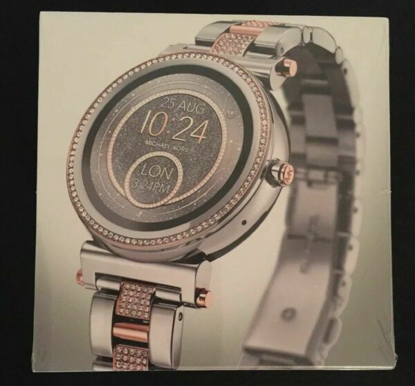 Michael Kors Access Women's Smartwatch Sofie Two-Tone Stainless Steel MKT5040