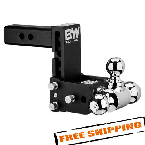 Bamp;W TS10048B Tow amp; Stow 3 Ball Mount 2quot; Hitch 5quot; Drop 5 1 2quot; Rise 10K $236.00