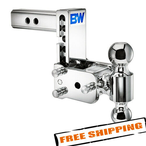 Bamp;W TS10037C Tow amp; Stow 2 Ball Mount 2quot; Hitch 5quot; Drop 5 1 2quot; Rise 10K