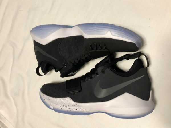 New Nike PG 1 Basketball Shoes Black Ice Speckle  878627-001 NOBOXTOP SZ 7