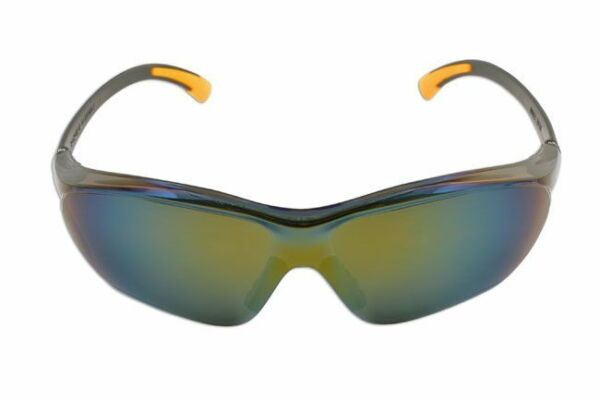 Laser Tools Safety Goggles - Black/mirrored (5675)