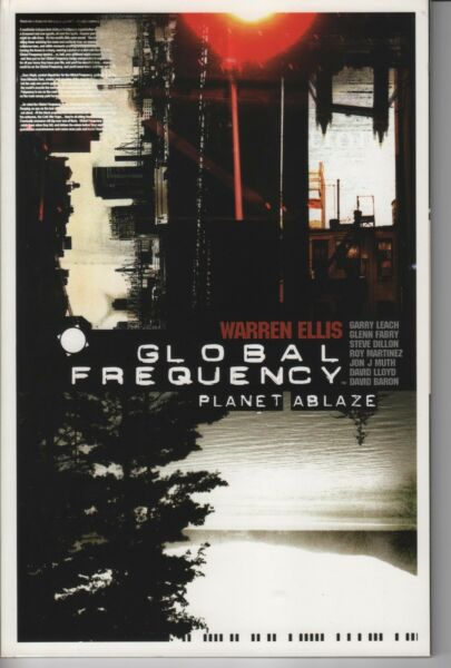 Global Frequency Vol 1 Planet Ablaze TP Unread first printing Warren Ellis