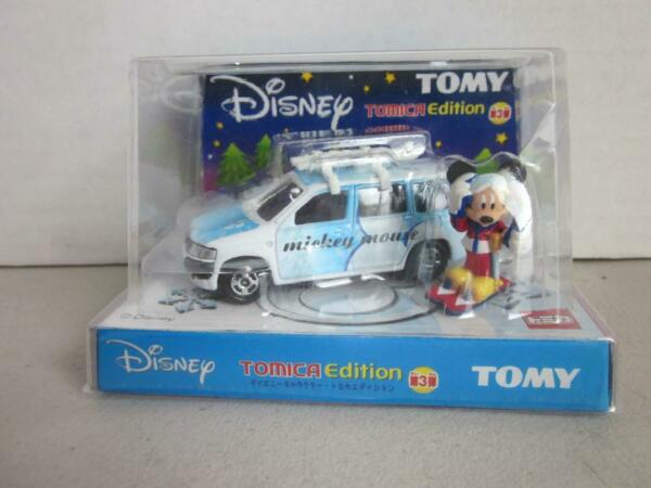 TOMICA DISNEY EDITION VOL.3 MICKEY MOUSE TOYOTA PROBOX 1 57 TOMY NEW in PACKLAGE