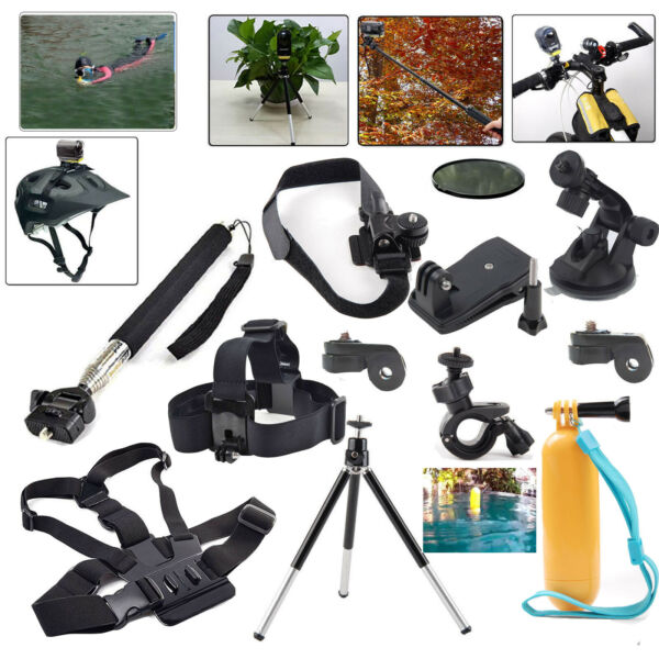 Accessories Kit for Sony Action Cam AS15 AS30V AS100V AZ1 Mini AS200V FDR-X1000V