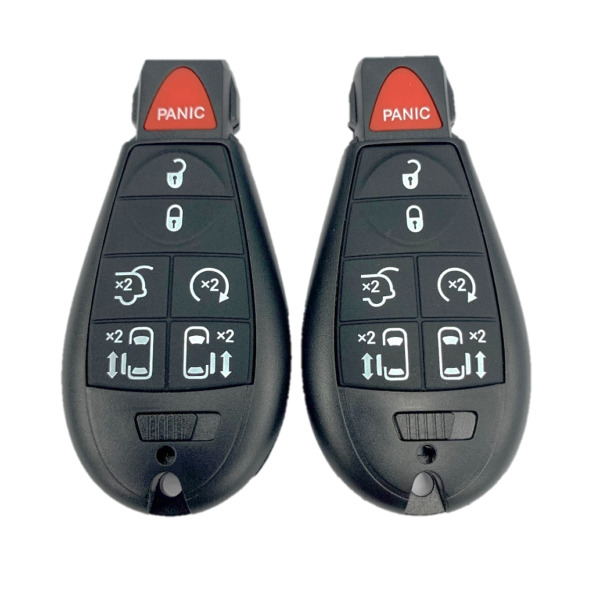 2 New Replacement Keyless Entry Remote Key Fobs Fobik 7 Button IYZ-C01C
