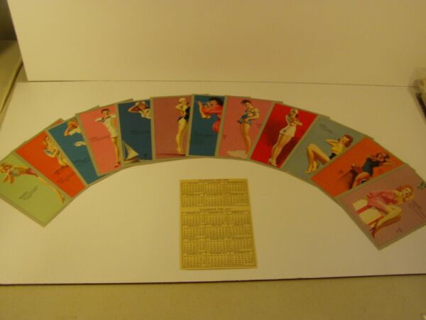 Earl Moran 1946-1947 Horoscope Set W Calendar Mutoscope Astrology