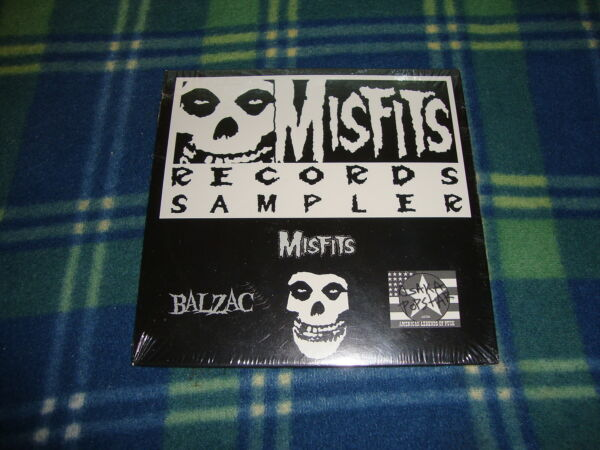 Misfits Balzac Osaka Popstar Sampler cd sealed
